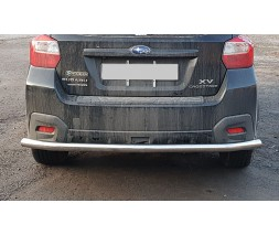 Защита заднего бампера для Subaru XV (2011-2017) SBXV.11.B1-02 d60мм x 1.6
