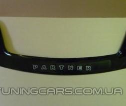 Дефлектор капота (мухобойка) TAGAZ Road Partner c 2008–2011, (ТАГАЗ Роад Партнер)