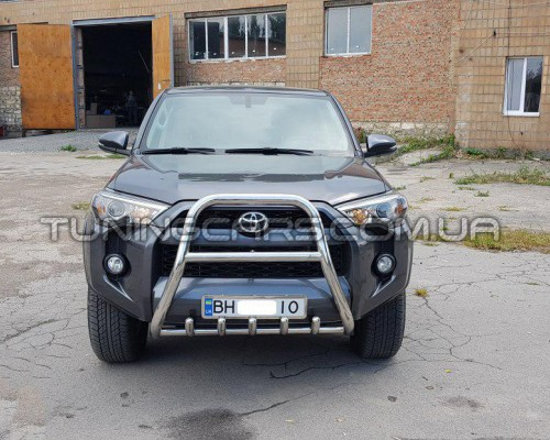 Защита переднего бампера для Toyota 4Runner (2014+)
