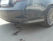 Накладка на задний бампер Toyota Camry 40