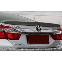 Лип спойлер Toyota Camry v50, Тойота Камри 50