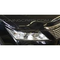 Накладки на фары (реснички) Toyota Camry V50, Тойота Камри В50