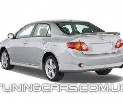 Накладка на задний бампер Toyota Corolla (2006+), Тойота Королла
