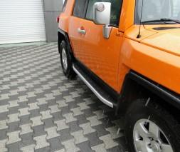 Пороги Toyota FJ Cruiser [2007+] NS001 (Newstar Grey)