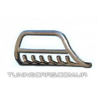 Защита переднего бампера для Toyota Hiace (04+) TYHС.07.F1-03 d60мм x 1.6