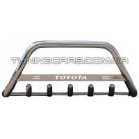 Защита переднего бампера для Toyota Hiace (04+) TYHС.07.F1-09 d60мм x 1.6