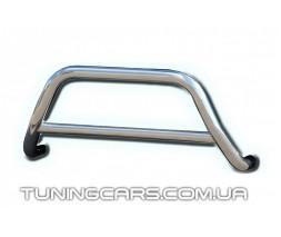 Защита переднего бампера для Toyota Hiace (04+) TYHС.07.F1-11 d60мм x 1.6