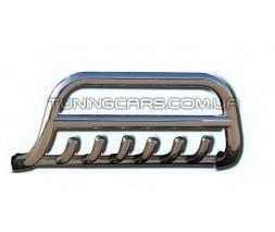 Защита переднего бампера для Toyota Hiace (04+) TYHС.07.F1-13 d60мм x 1.6