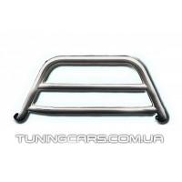 Защита переднего бампера для Toyota Hiace (04+) TYHС.07.F1-16 d60мм x 1.6