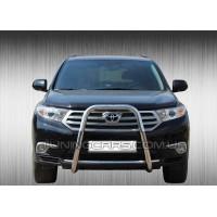 Защита переднего бампера для Toyota Highlander XU40 (2010-2013) TYXU.10.F1-42 d60мм x 1.6