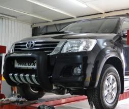 Кенгурятник Toyota Hilux [1999+] QT001