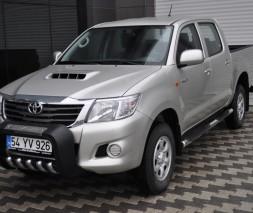 Кенгурятник Toyota Hilux [1999+] QT015