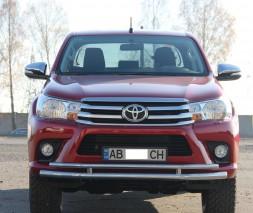 Кенгурятник Toyota Hilux [2015+] ST018