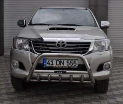 Кенгурятник Toyota Hilux WT003 (Inform)