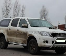 Передняя защита кенгурятник Toyota Hilux (04-15) TYHL.04.F1-03