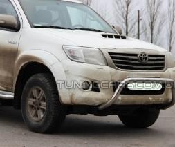 Передняя защита кенгурятник Toyota Hilux (04-15) TYHL.04.F1-23