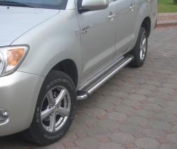 Пороги Toyota Hilux KB002 (Hunter)