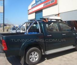 Защитная дуга для кузова Toyota Hilux (2015+) TYHL.15.C1-02 d60мм x 1.6