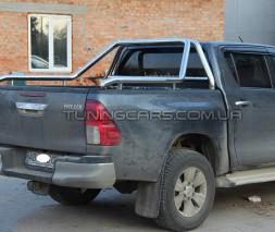 Защитная дуга для кузова Toyota Hilux (2004-2015) TYHL.04.C1-02 d60мм x 1.6