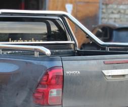 Защитная дуга для кузова Toyota Hilux (2015+) TYHL.15.C1-07 d60мм x 1.6