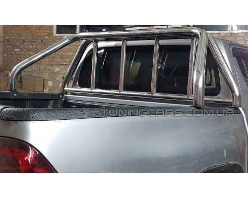 Защитная дуга для кузова Toyota Hilux (2015+) TYHL.15.C1-10 d60мм x 1.6