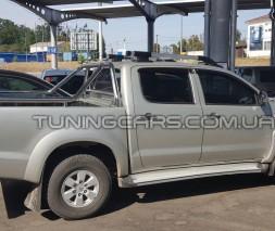 Защитная дуга для кузова Toyota Hilux (2004-2015) TYHL.04.C1-07 d60мм x 1.6