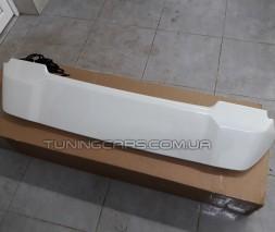 Toyota LC200 спойлер (дизайн 2018) в белом цвете Full-LED
