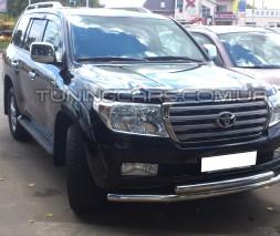 Передняя защита ус Toyota Land Cruiser 100 (03-07) TYLC.03.F3-10