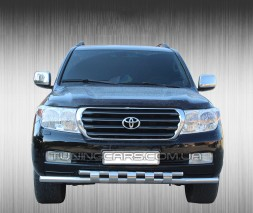 Передняя защита ус Toyota Land Cruiser 200 (07+) TYLC.07.F3-12