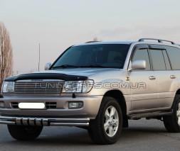 Защита переднего бампера для Toyota Land Cruiser 100 (1998-2007) TYLC.98.F3-32 d60мм x 1.6