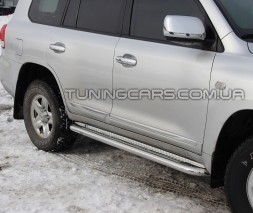 Пороги площадка Toyota Land Cruiser 200 (07+) TYLC.07.S2-01
