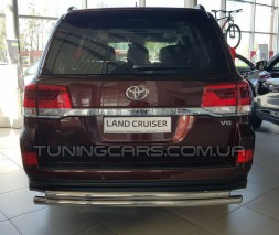 Задняя защита Toyota Land Cruiser 200 (07+) B1-55