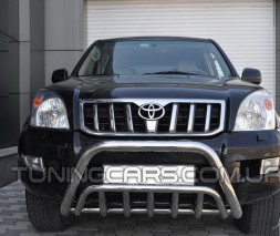 Передняя защита кенгурятник Toyota Land Cruiser Prado 120 (02-09) TYLC.02.F1-02