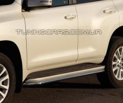 Пороги трубы Toyota Land Cruiser Prado 120 (02-09) TYLC.02.S1-04