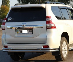 Задняя защита Toyota LC Prado 150 [2009+] AK005-2