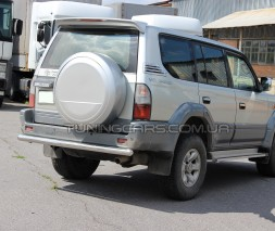 Защита заднего бампера для Toyota Land Cruiser Prado 80 (1990-1997) TYLC.90.B1-02 d60мм x 1.6