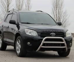 Передняя защита кенгурятник Toyota Rav 4 XA 20 (00-05) TYRV.00.F1-16