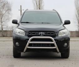 Защита переднего бампера для Toyota RAV4 XA 20 (2000-2005) TYRV.00.F1-16 d60мм x 1.6