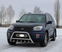 Передняя защита кенгурятник Toyota Rav 4 XA 40 (16+) TYRV.16.F1-03