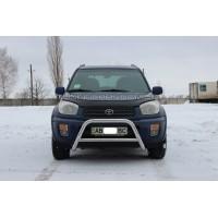 Защита переднего бампера для Toyota RAV4 XA 40 (2013-2015) TYRV.13.F1-11 d60мм x 1.6