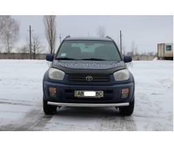 Защита переднего бампера для Toyota RAV4 XA 20 (2000-2005) TYRV.00.F3-05 d60мм x 1.6
