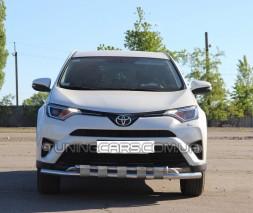 Передняя защита ус Toyota Rav 4 XA 30 (05-10) TYRV.05.F3-12