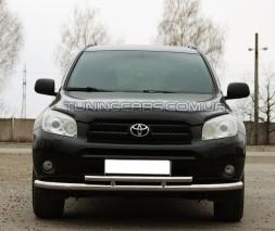 Передняя защита ус Toyota Rav 4 XA 30 (05-10) TYRV.05.F3-20-L