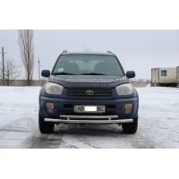 Защита переднего бампера для Toyota RAV4 XA 20 (2000-2005) TYRV.00.F3-20 d60мм x 1.6