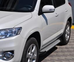 Пороги Toyota RAV4 AB004 (Artemis Silver)