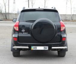Задняя защита Toyota RAV4 AK003