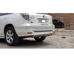Защита заднего бампера для Toyota RAV4 TY.12.B1-25L d60мм x 1.6