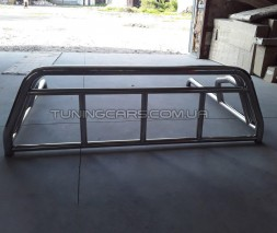Задняя штанга Toyota Tundra (14+) (Roll - Bar) black TYTN.14.C1-06