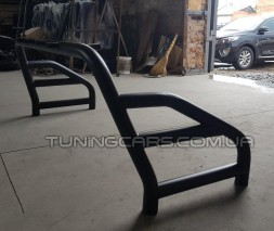 Задняя штанга Toyota Tundra (14+) (Roll - Bar) black TYTN.14.C1-09