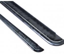 Пороги площадка для Dodge Ram 1500 (2002-2009) DDRM.02.S2-05 (черный) d60мм x 1.6